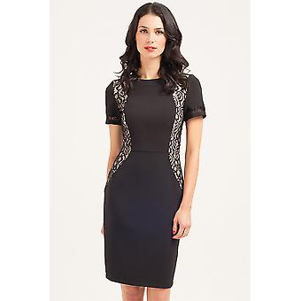 Paper Dolls Black Lace Panel Dress