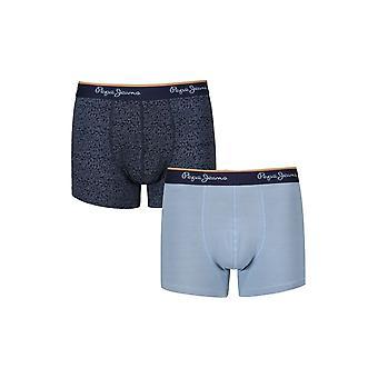 New Designer Mens Pepe Jeans Boxer Trunk Shorts Rodge Gift Set
