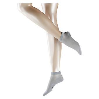 Фалке хлопок короткие носки восторг - серебро