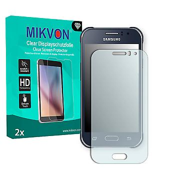 Samsung Galaxy J1 Ace Duos Screen Protector - Mikvon Clear (Retail Package with accessories)