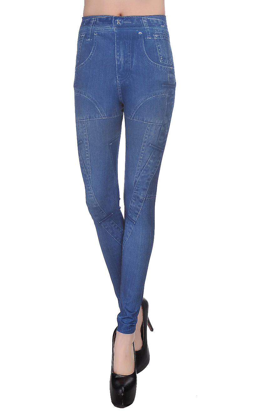 Waooh - printed denim legging Wur