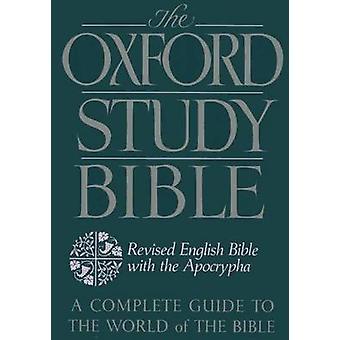 Die Oxford Studienbibel - revidierte englische Bibel mit Apokryphen von M. Ja
