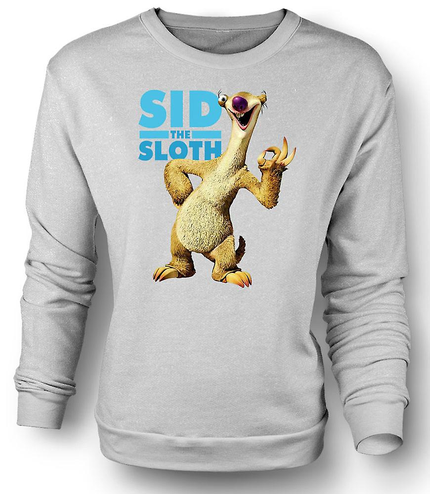 Mens Sweatshirt Ice Age - Sid le paresseux