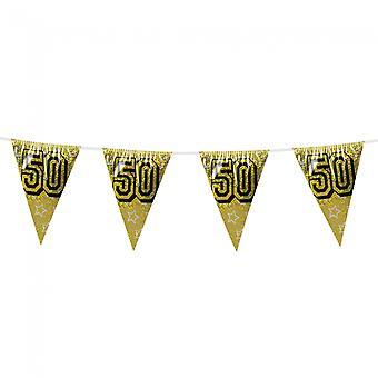 Flaggirlang-Vimpelgirlang 50-8 metres-Gold