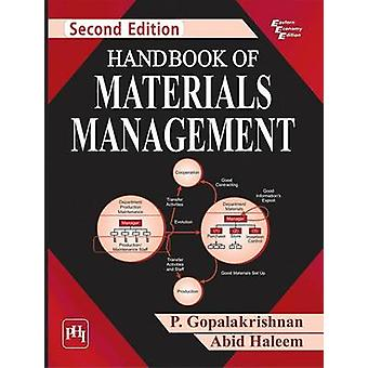 Handbook of Materials Management (2nd Revised edition) by P. Gopalakr