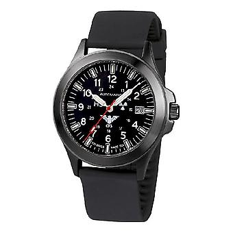 KHS watches mens watch black platoon titanium automatic KHS. BPTA. SB