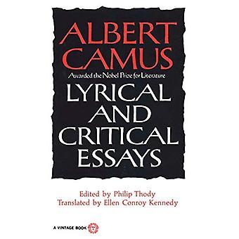Lyrisk och kritiska essäer