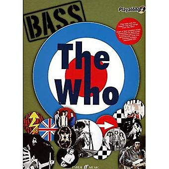The  Who  Authentic Bass Playalong: (Bass Guitar Tab Songbook) (Authentic Playalong)