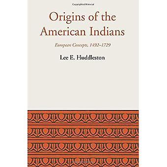 Herkunft der Indianer: Europäische Konzepte, 1492-1729 (LLILAS lateinamerikanischen Monograph Series)