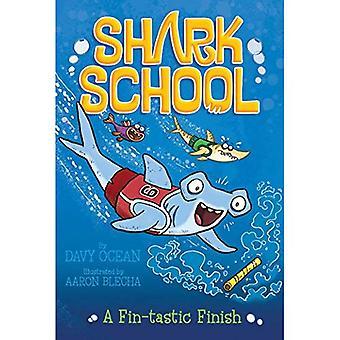 Een Fin-Tastic afwerking (Shark School)
