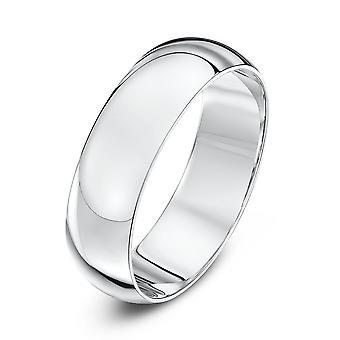 Gwiazda, ślub pierścieniami Pallad 500 Heavy D 6mm obrączka