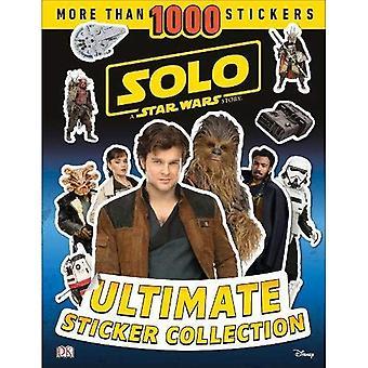 Solo en Star Wars Story ultimata klistermärke samling