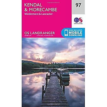 Kendal & Morecambe (OS Landranger Map)