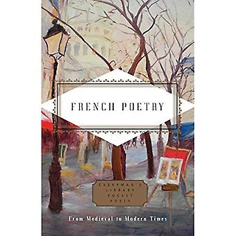 French Poetry: From Medieval to Modern Times (Pocket Poets)