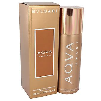 Bvlgari Aqua Amara door Bvlgari Body Spray 5 oz/150 ml (mannen)