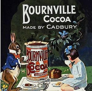 Bournville Cocoa drinks mat / coaster