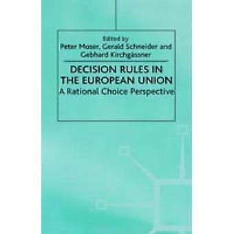 مقرر قواعد في الاتحاد الأوروبي من منظور اختيار رشيد قبل كيرتشجاسنير & جبهارد