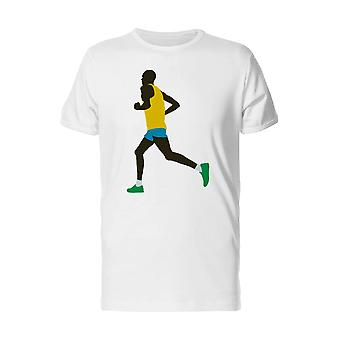 Kenyan Runner Athlete Tee Men's -Image by Shutterstock
