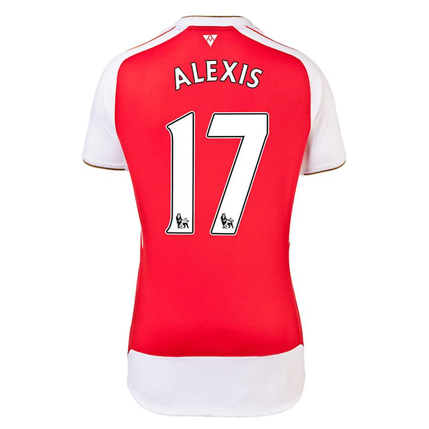 2015-16 Arsenal Home Shirt (Alexis 17) - Kids