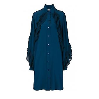 جيفنشي الأزرق ثوب الحرير