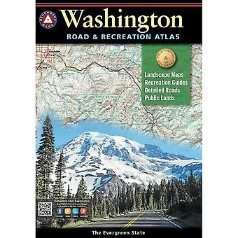 Benchmark Washington Road &� Recreation Atlas, 8th Edition