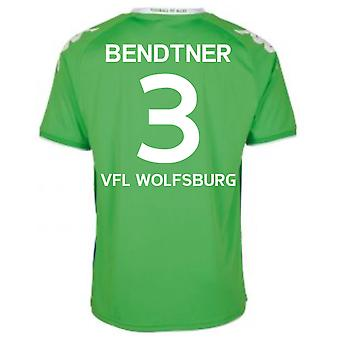 2015-16 Wolfsburg Away Shirt (Bendtner 3)
