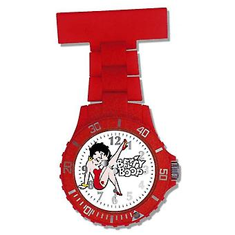 Betty Boop White Photo Dial Red Girls Nurses Fob Watch BTY01/A