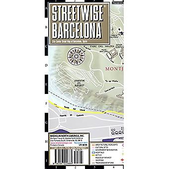 Streetwise Barcelona Map - Laminated City Center Street Map of Barcel