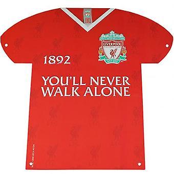 Liverpool Metal Shirt Sign CR