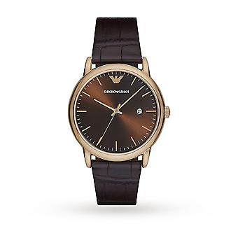 Armani Ar2503 Luigi Brown Sunray Dial Men's Watch