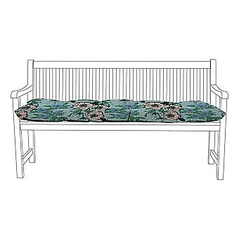 Gardenista® Water Resistant Pastels Floral Print Tufted 3 Seater Bench Kissen