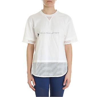 Adidas By Stella Mccartney White Nylon T-shirt