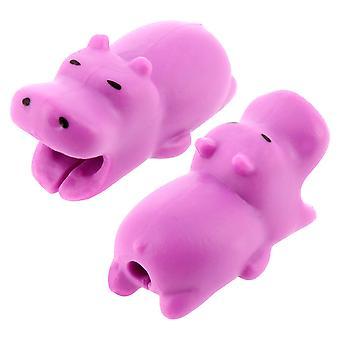 Protettore cavo Carino Hippo Anti-Breakage Gel Resistente Universale