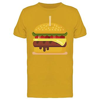 Delicious Hamburger Icon Tee Men's -Image by Shutterstock