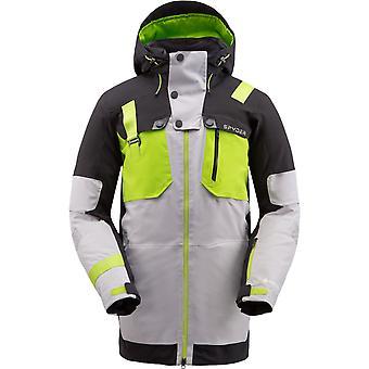 Spyder TORDRILLO Herren Gore-Tex Primaloft Ski Jacke - grau