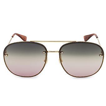 Gucci Aviator Sunglasses GG0227S 004 62