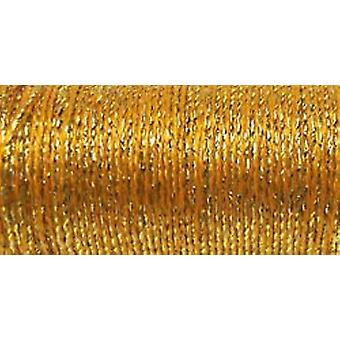Kreinik Metallic Wandbehang Braid #12 10 Meter 11 Yards Golden Chardonnay T 5815