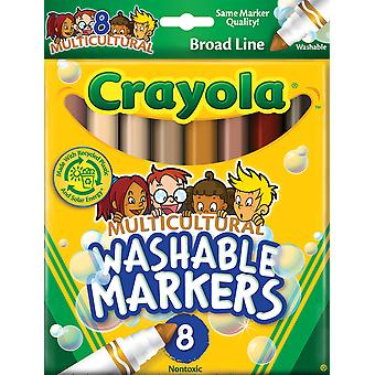 Multicultural Washable Markers 8 Pkg 587801