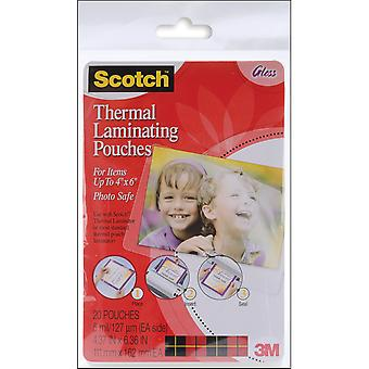 Scotch Thermal Laminator Pouches 20 Pkg 4