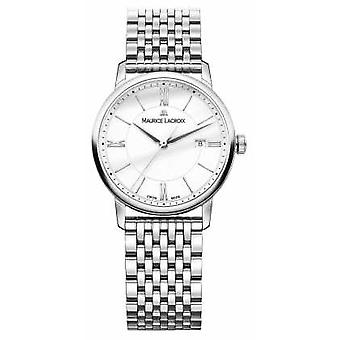 Maurice Lacroix Eliros Womens Sapphire Crystal avec Anti-reflect bas Watch EL1094-SS002-110-1