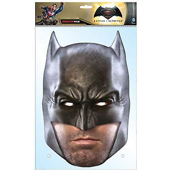 Batman Dawn of Justice Ben Affleck enda kort Party Face Mask