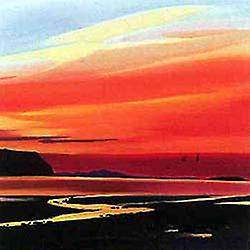 Pam Carter print - Waterloo Sunset, Skye