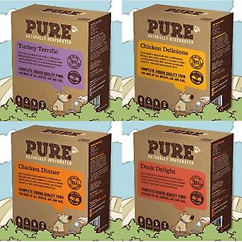 Pure Pet Food – Mixer 2 x 4kg Turkey Terrific & Chicken Delicious. Natural dehydrated dog food.