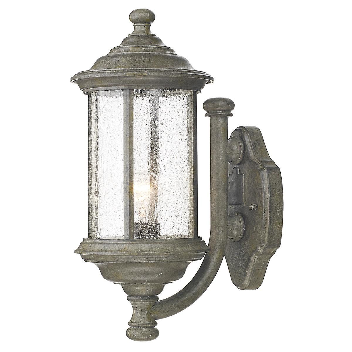 Dar BRO1661 Brompton Traditional Outdoor Wall Lantern Double Insulated