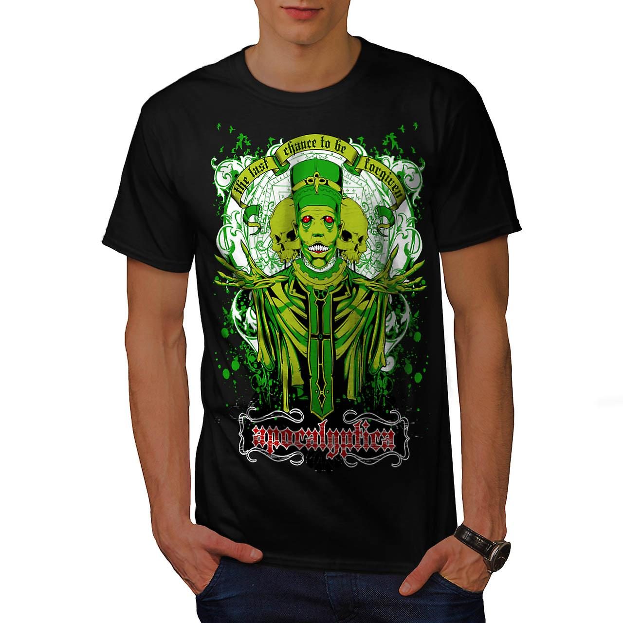 Apocalyptica Death Zombie Men Black T-shirt | Wellcoda