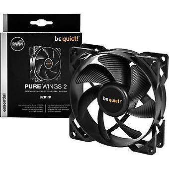 PC fan BeQuiet Pure Wings 2 92 mm PWM Black (W x H x D) 92 x 92