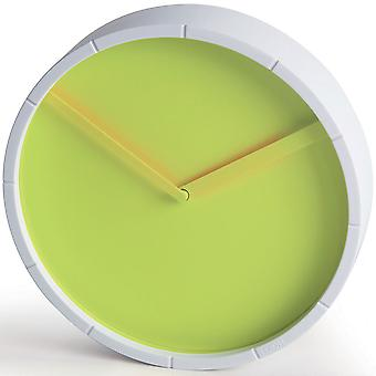 Lime Lexon Glow Clock