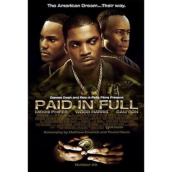 Paid in Full Movie Poster (11 x 17)