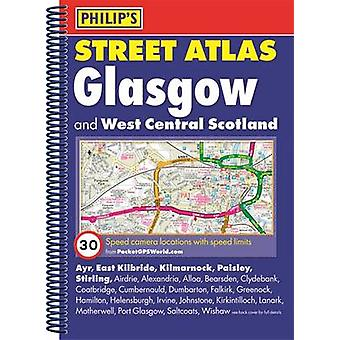 Philips Street Atlas Glasgow og West Central Scotland av Philips