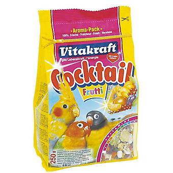 Vitakraft Valkparkiet Frutti Cocktail 250g (Pack van 6)